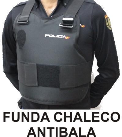 FUNDA CHALECO POLICIA