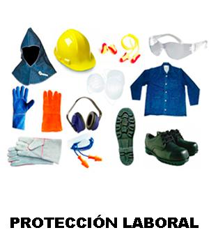Proteccion para trabajo. Equipos de protección individual. Protección laboral.