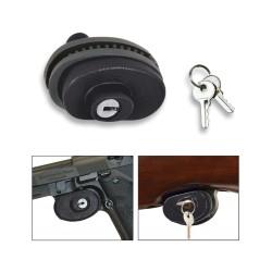 Candado con llave para arma